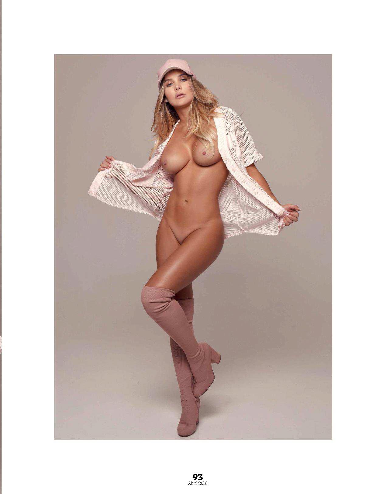 """FOTOS: Karolina Ramírez, elegida como la más """"sexy"""" de Instagram, se desnudó en Playboy Mexico 8"""