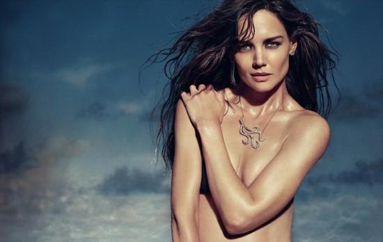 Katie Holmes Se Desnuda Para Campaña De Joyas