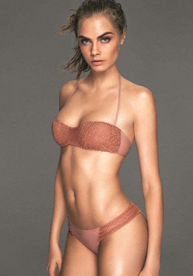 Amaba Estar Desnuda Cara Delevingne