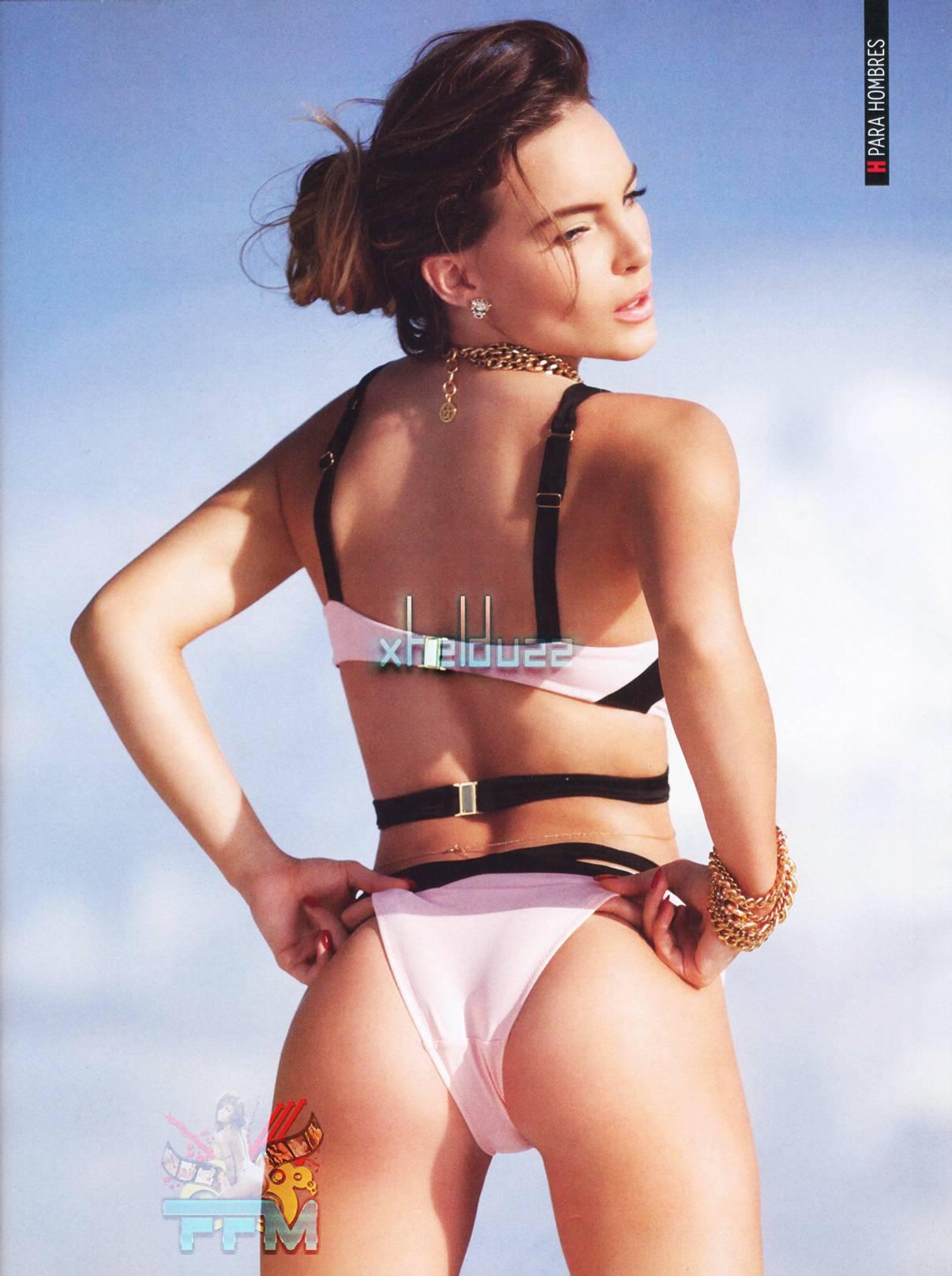 Belinda Posó Super Sexy Y Con Muy Poca Ropa En La Revista H