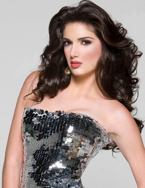 Miss Venezuela Adriana Vasini is announced as the third