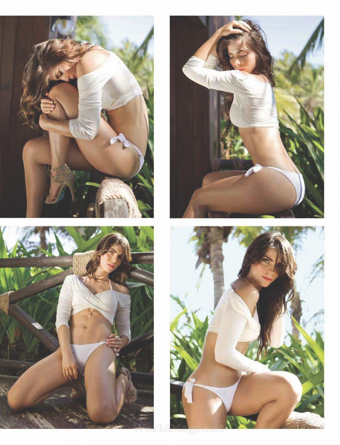 Valeria, la chica trans de Gran Hermano, posó desnuda