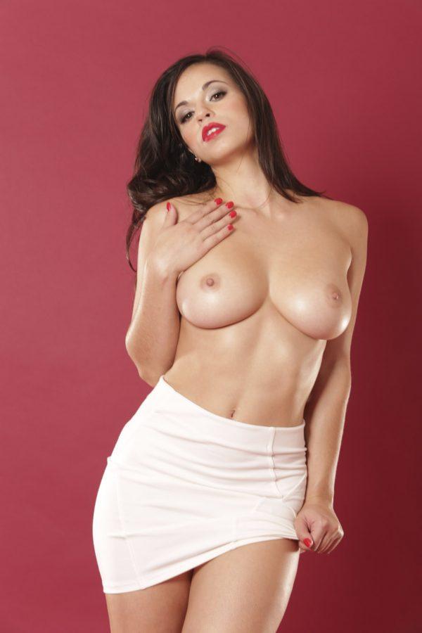Nekane En Su Gran Desnudo Para La Revista Primera Línea Fotos