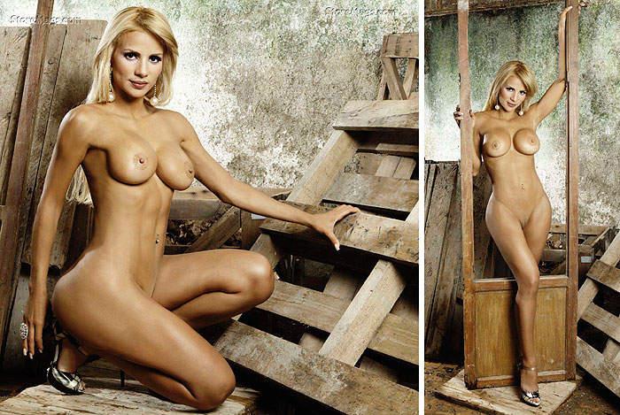 La Voluptuosa Rubia Deliza Rodriguez Delizca Se Desnud En Playboy