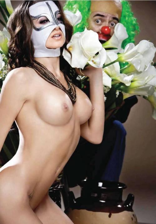 De La Reata Brozo Para Playboy Meico Octubre Fotos