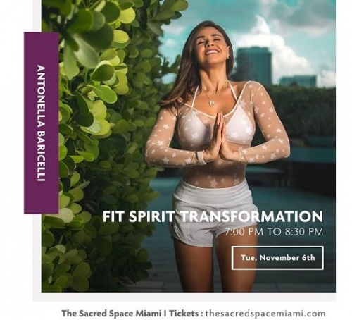 FIT SPIRIT TRANSFORMATION CON ANTONELLA BARICELLI