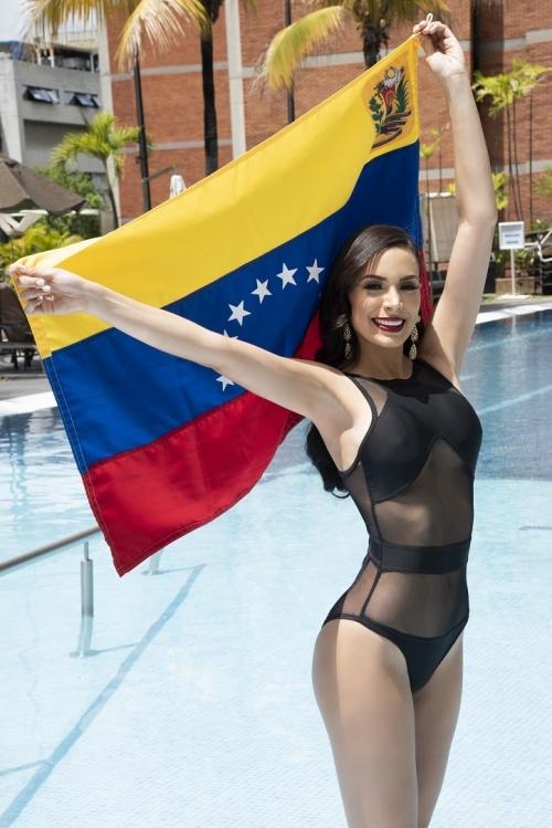 Ana Cáceres representa a  Venezuela en el ''Miss Tourism Universe 2018''