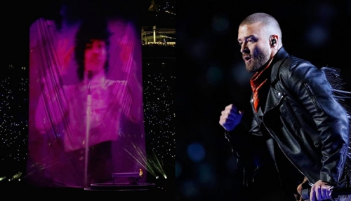 Emotivo homenaje de Justin Timberlake a Prince, en el ''Half Time Show'' del Super Bowl LII (+Fotos y Video)