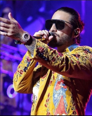 Maluma agotó boletos en el Madison Square Garden
