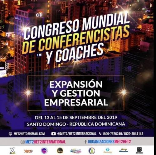 1er Congreso Mundial de Met2 & Het2 International en República Dominicana. Noticias en tiempo real