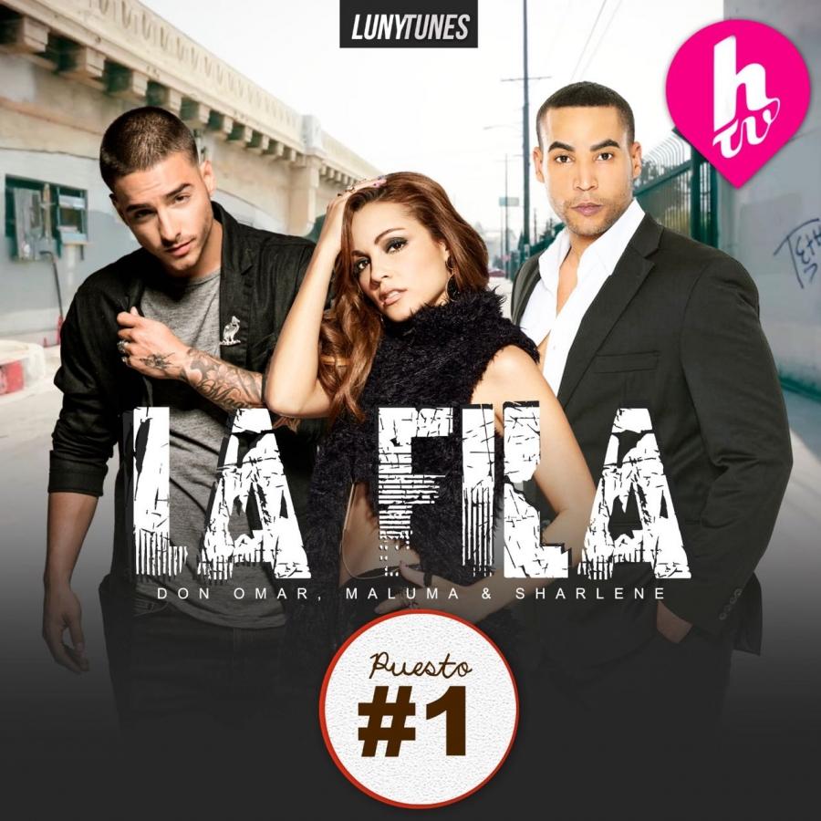 colonia varilla Respeto a ti mismo  La Fila'' con Sharlene, Maluma y Don Omar lidera Hot Ranking de HTV