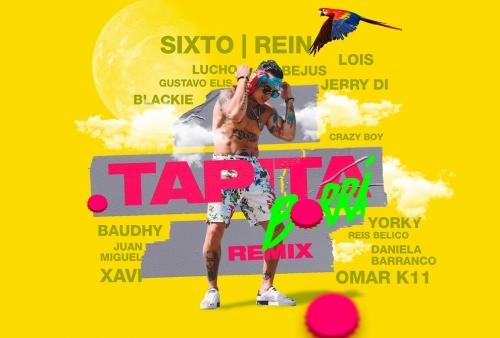 Sixto Rein reúne a 13 artistas en su Tapita Remix (+Video). Noticias en tiempo real