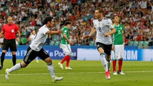 Copa Confederaciones: Alemania goleó a México y jugará la final con Chile