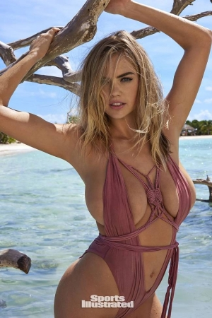 Kate Upton posa con muy poca ropa en Sports Illustrated Swimsuit 2018 (+Fotos)