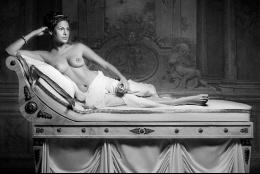 Eva Mendes posa desnuda ante la cámara de Francesco Vezzoli (+Fotos)