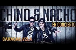 Chino y Nacho se presentarán el 15 de octubre en Caracas