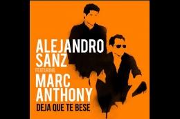 Alejandro Sanz y Marc Anthony unen talentos en 'Deja Que Te Bese' (+Video)